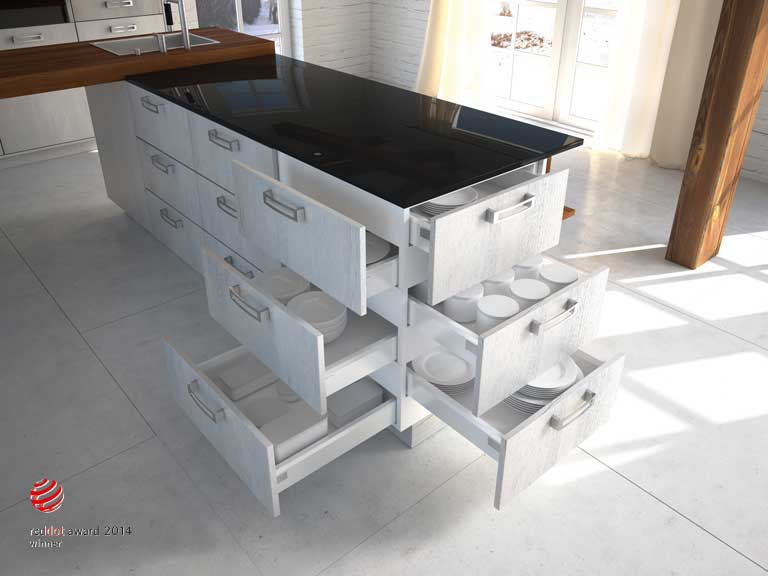 Multi Level Drawers From Kuhlmann